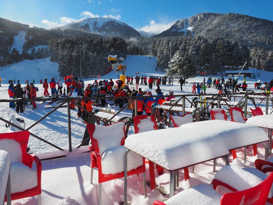 Le front de neige de Masella - © Station de ski de Masella