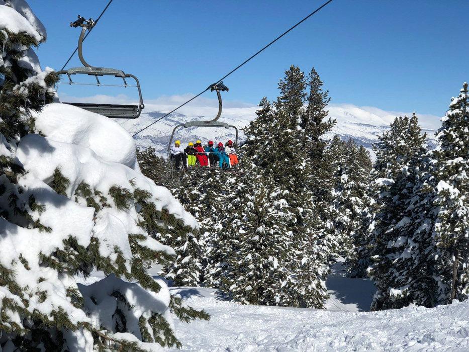 En route pour les pistes de ski de Masella - © Station de ski de Masella