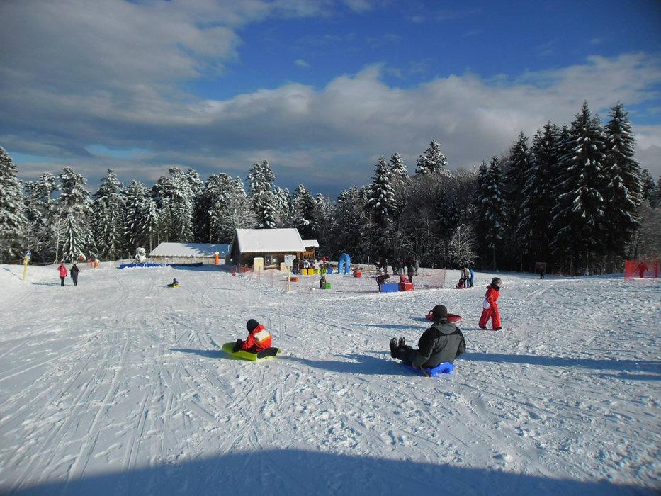Prabouré ski resort - © Parc d'Activités de Montagne de Prabouré