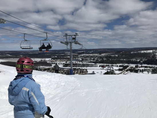Boyne Mountain Resort - April 2018 skiing was perfect.  - © iPhone