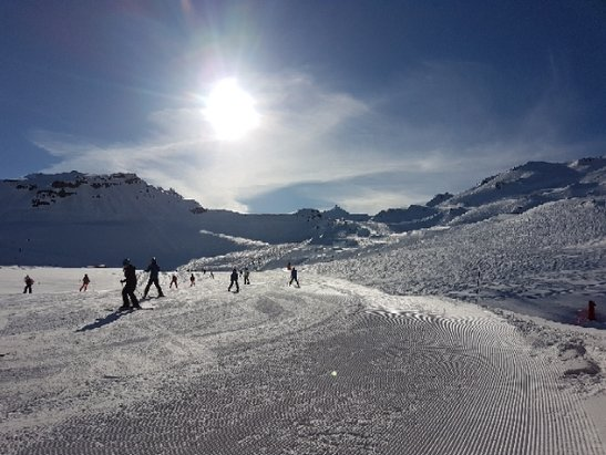 Val Thorens - Great conditions - © n_wilky
