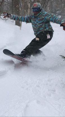 Jay Peak - 420 amazing epic day. Foot of pow - © pow sniffa