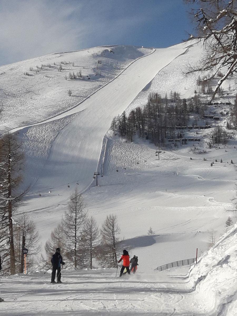 Pistenübersicht im Skigebiet Großeck-Speiereck - © Bergbahnen Lungau