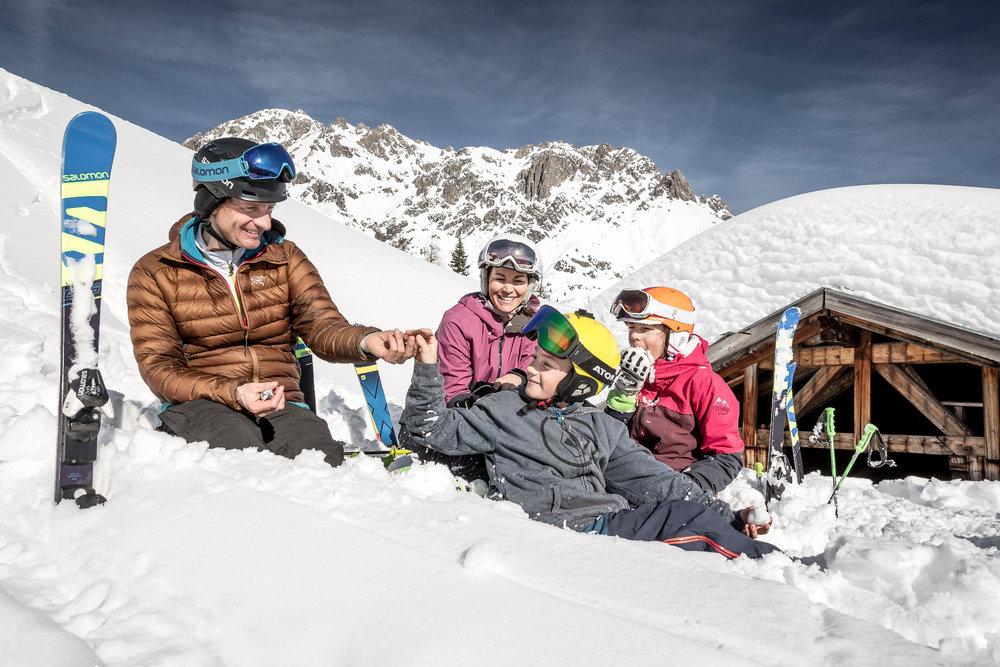 Mittagspause - © Imster Bergbahnen | Rudi Wyhlidal