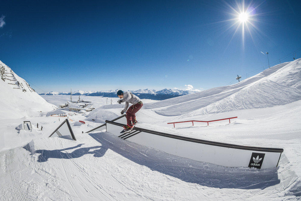 Der Snowpark ist bei Freeridern sehr beliebt - © www.gotit.a