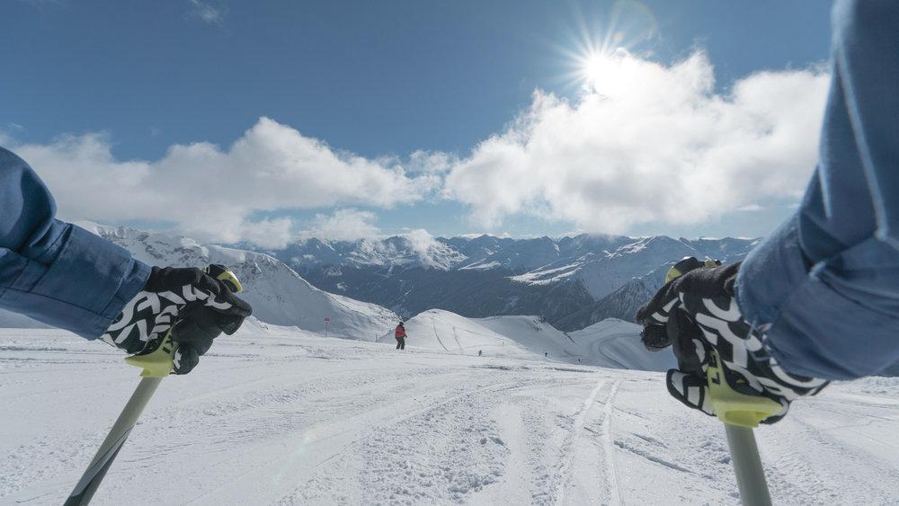 Ab gehts ins Skigebiet Kappl - © © TVB Paznaun - Ischgl