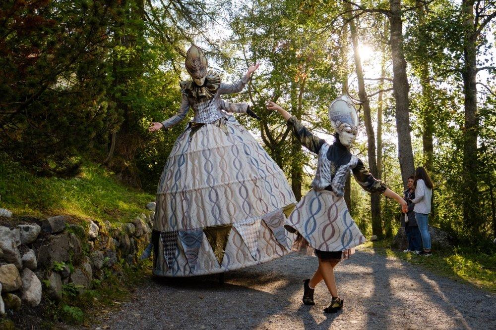 Divadelníci z Benátskej noci 2018 na Štrbskom plese - © Branislav Hanus