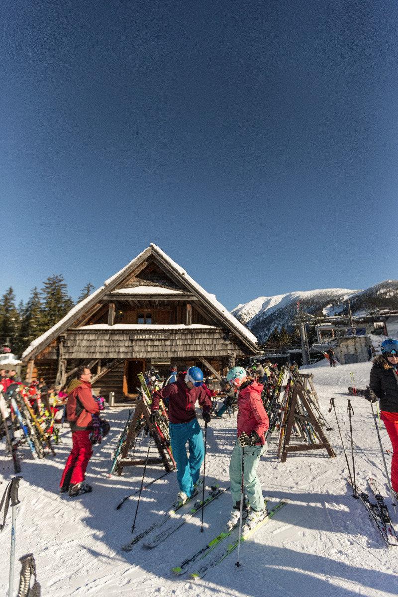 Die Eibenhütte im Skigebiet Lackenhof-Ötscher - © (c) Martin Fülöp | Ötscher