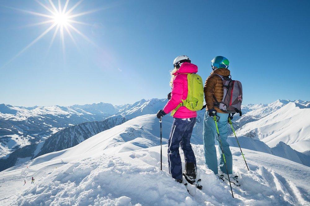 Skifahrer am Kolm - © Michael Gruber_Tourismusverband Rauris
