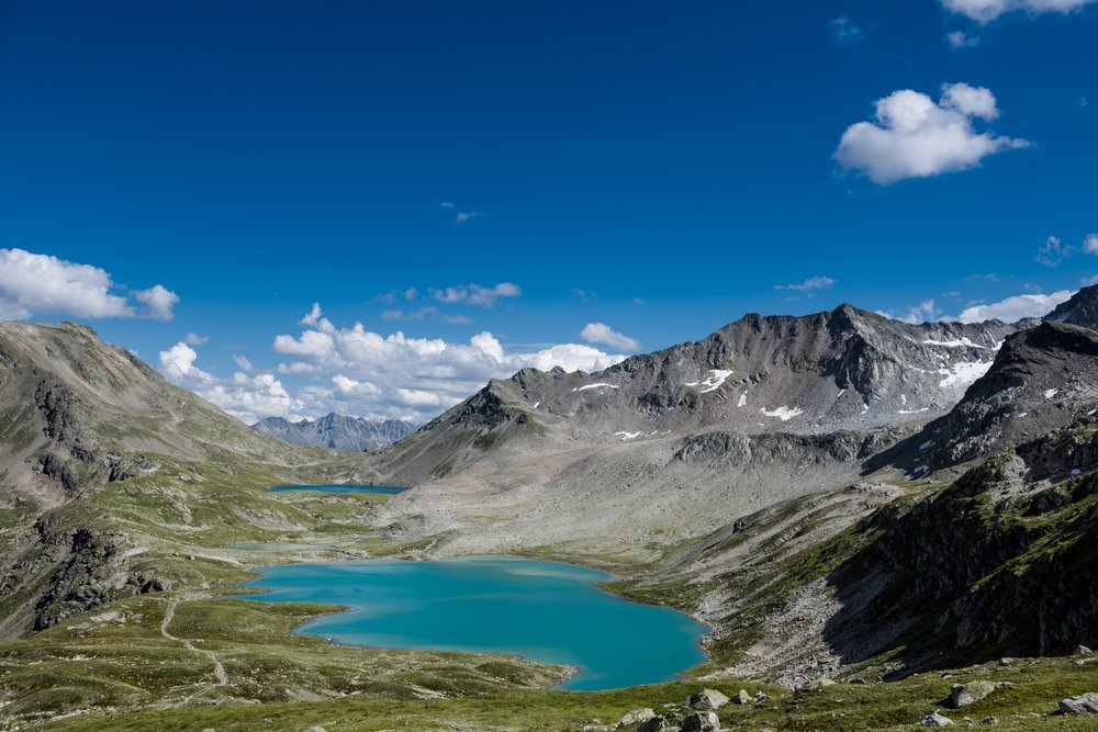 Blauer Himmel an den Jöriseen - ©Davos Klosters/Cristian Egelmair