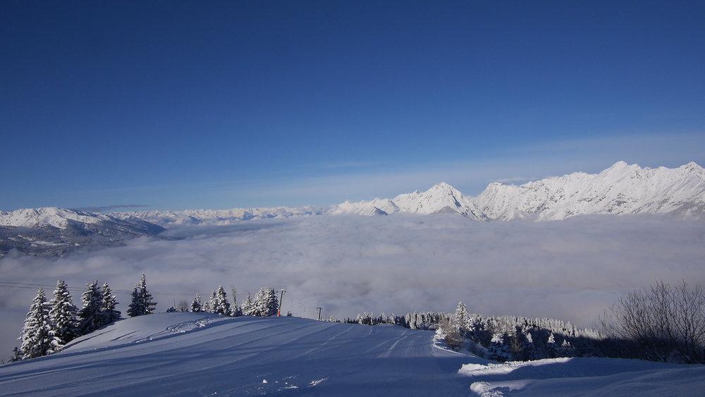 Traumhaftes Panorama am Kellerjoch - © Berg- und Schilift Schwaz-Pill Ges.m.b.H