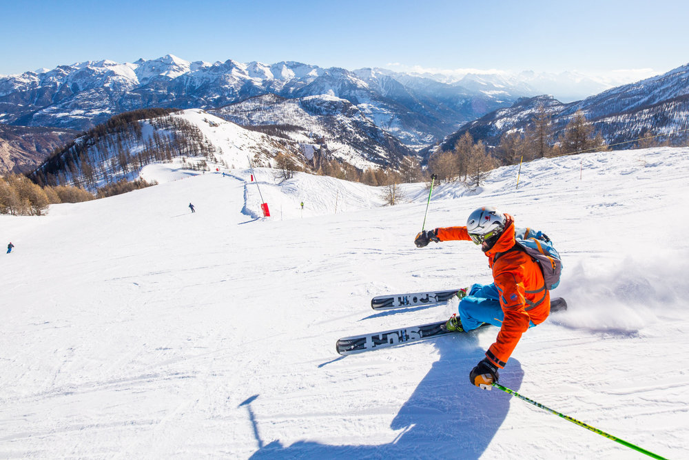 A vous les pistes de ski de Puy Saint Vincent ! - © Thibaut BLAIS / OTI du Pays des Écrins