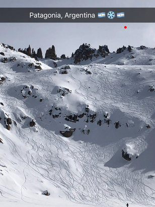 "Cerro Catedral Alta Patagonia - Incredible powder days 8/23 and 8/24. 12"" of dry powder, this place is incredible!  - © iPhone"