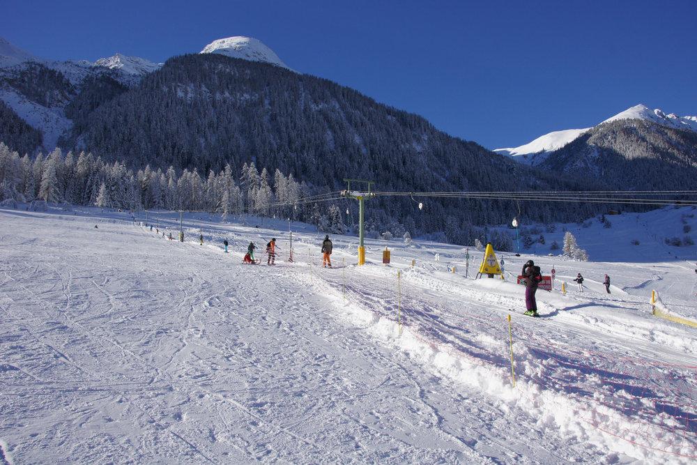 Skilift Tèct - © Bergün Filisur Tourismus