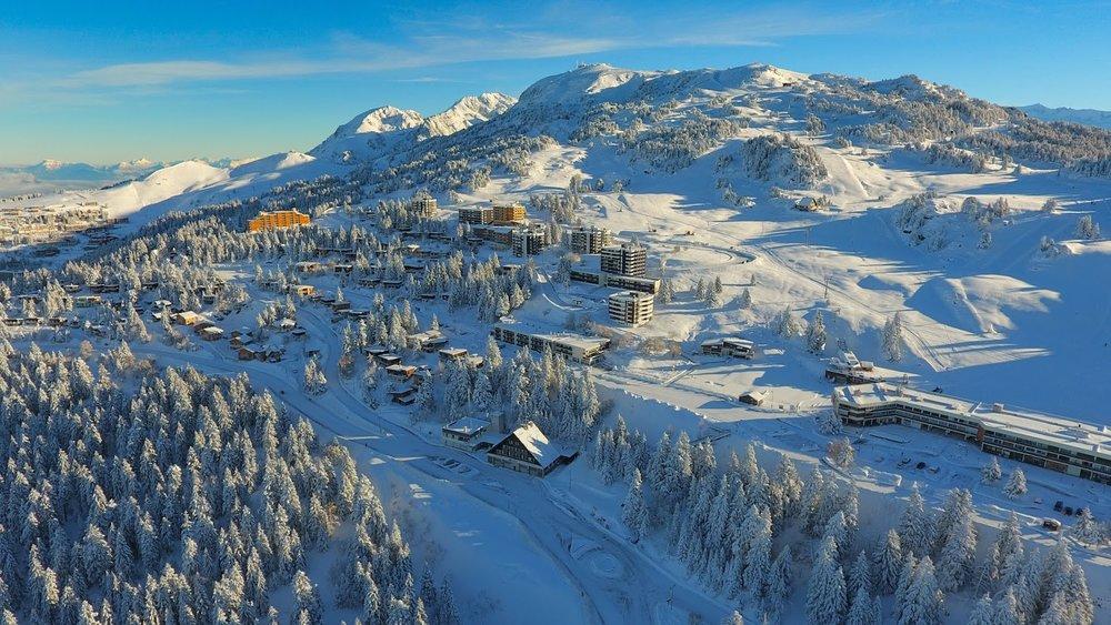 Skigebiet Chamrousse - © Aeolus / Office de Tourisme de Chamrousse