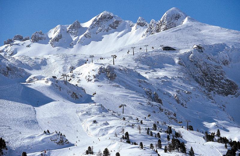 Skigebiet in Obertauern