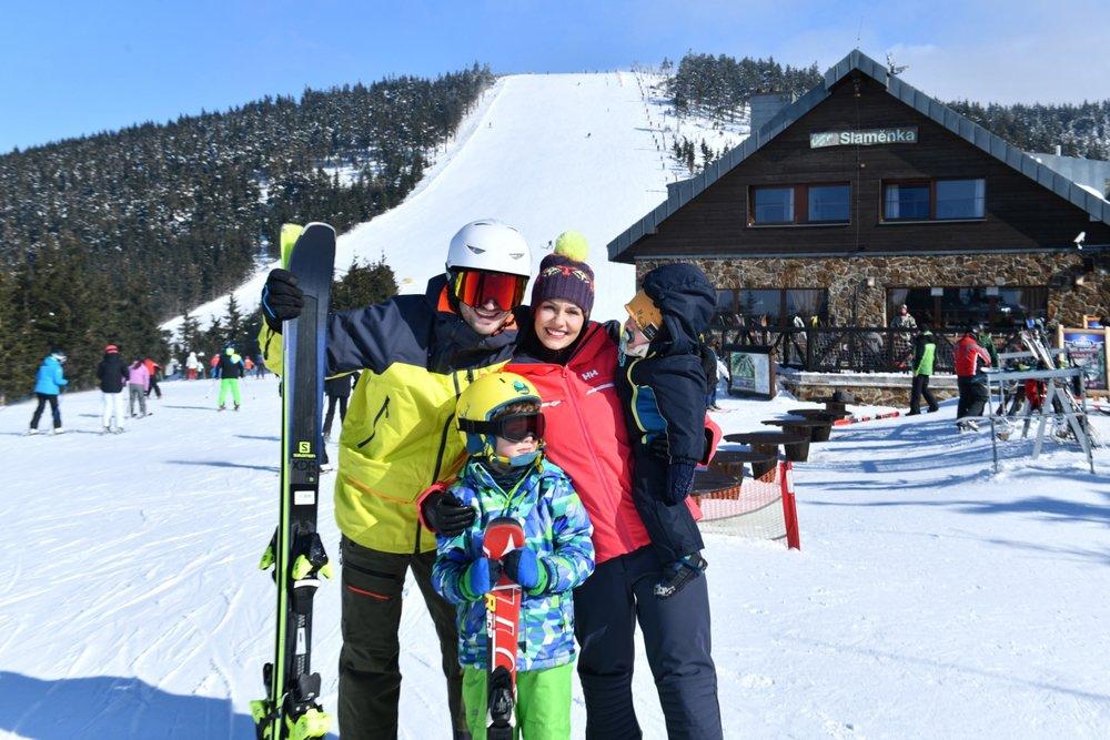 Horský resort Dolní Morava je lyžařské středisko orientované na rodiny s dětmi - © Horský resort Dolní Morava