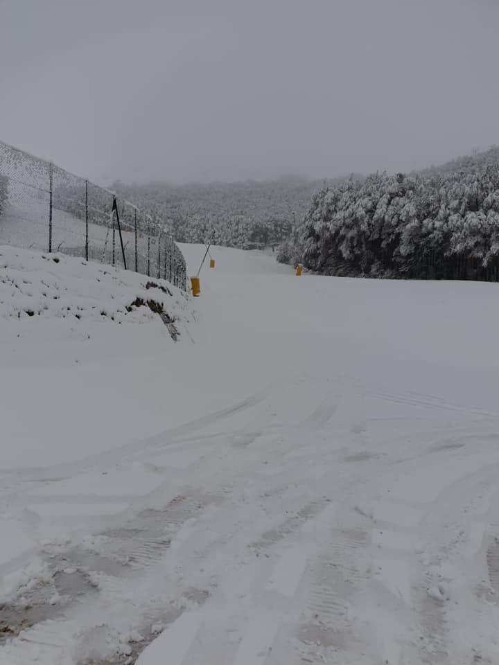 Prima neve in Abruzzo! Roccaraso 22.10.18 - © Roccaraso.net Facebook