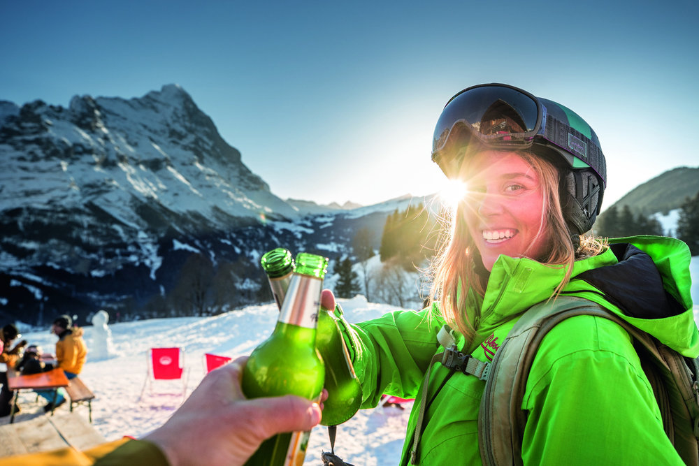 Après-Ski in Grindelwald-First - © Jungfrau Region
