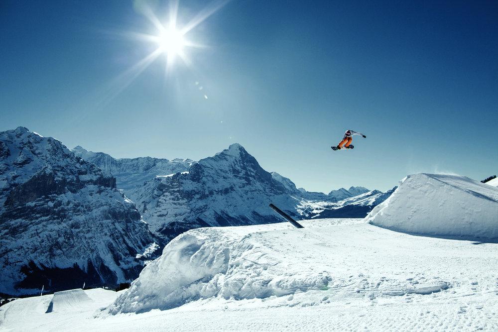 Snowpark Eiger - © Jungfrau Region