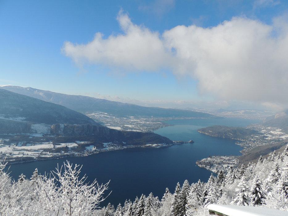 Vue du lac d'Annecy depuis le col de la Forclaz - © SAEM Montmin