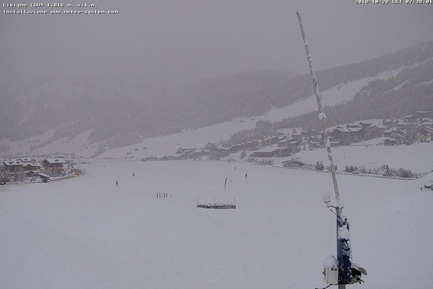 Livigno 27.10.2018 - © Livigno webcam