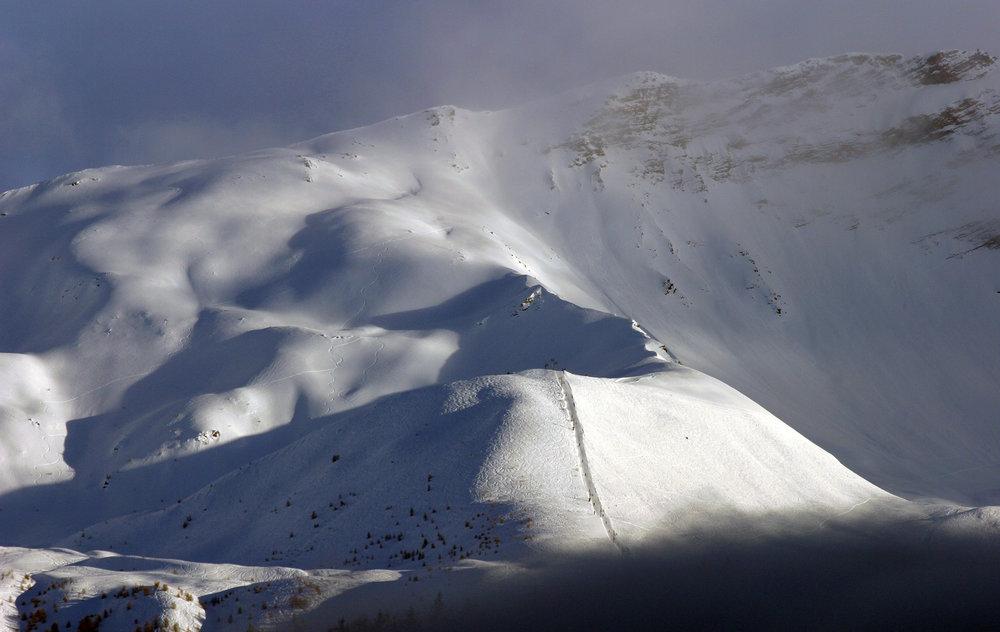 Le domaine skiable du Sauze (secteur de l'Alp) - © Claude Gouron