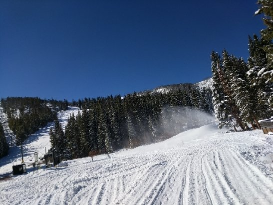 Winter Park Resort - Base of Mary Jane on Saturday, November 10th! Not open yet, but looking good!  - © Wagon