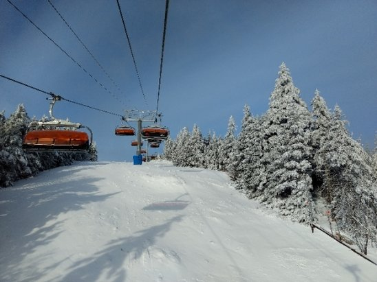 Okemo Mountain Resort - beautiful day on the mountain. Comfortable temperatures. Wonderful staff. - © anonymous