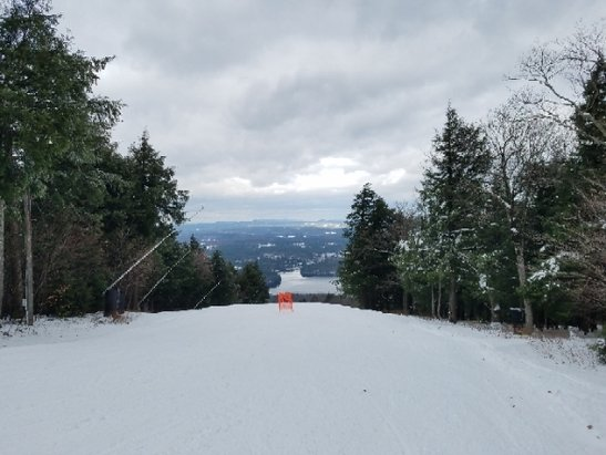 Wachusett Mountain Ski Area - went Saturday, opening day! three actual runs were open and they were excellent considering the time of year and location.  Excited to go back soon! - © psliv