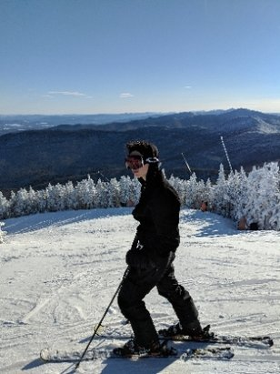 Stowe Mountain Resort - I love this spot at the top of the Quad - © Jake