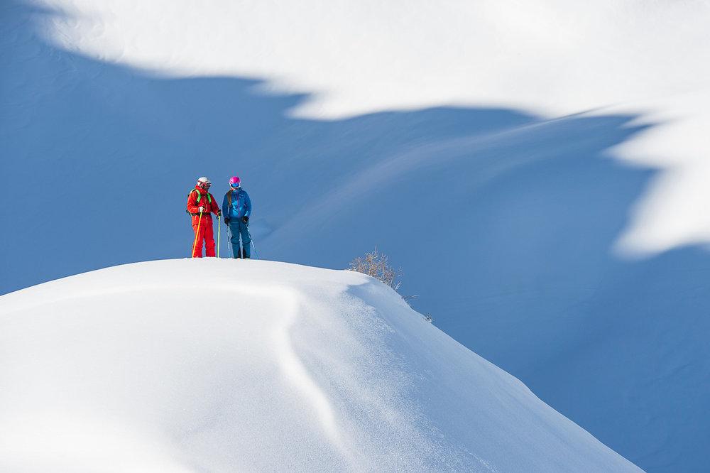 Freeriden in Warth-Schröcken - © Skigebiet Warth-Schröcken