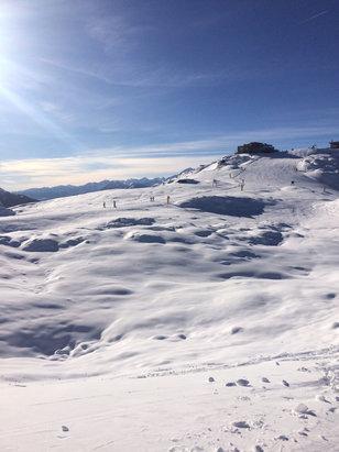 Madonna di Campiglio - Situazione neve in data 01/12/18; neve che tiene sino a fine giornata  - © LucaA
