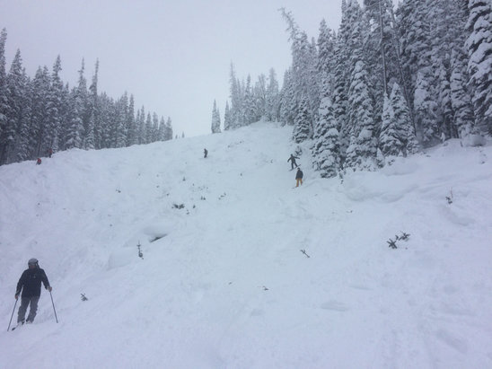 Winter Park Resort - Trestle opened today.  The lar ge face had very few rocks.  Great early season! - © martint