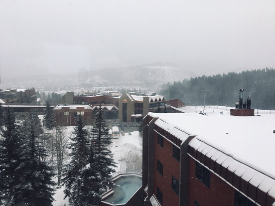 Breckenridge - Pow-pow day! - © MJA's iPhone