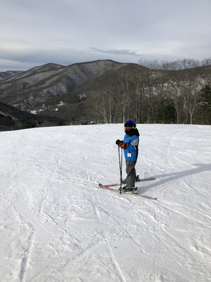 Cataloochee Ski Area - Awesome day Wednesday meadow still open !  - © Paul's iphone