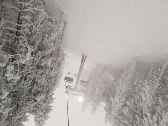 Zieleniec Ski Arena - warunki super. N5 i N2 kiedyś zadziała?! - © piotr w.