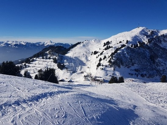 Villars - Gryon - villars. 15 decembre 2018 12h. - © Guillaume