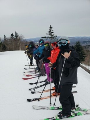 Okemo Mountain Resort - Great day today @Okemo!  Snow in forecast.    Cheers - © ronlaporta