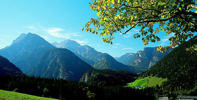Salzburger Saalachtal_Landschaft