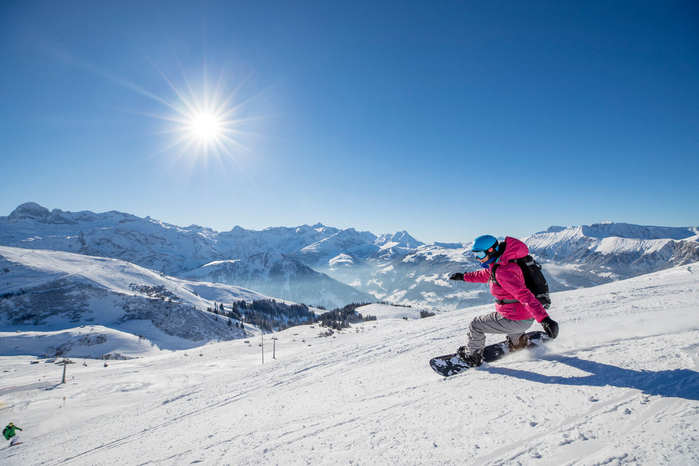 Impressionen aus der Skiregion Adelboden-Lenk - © David Birri