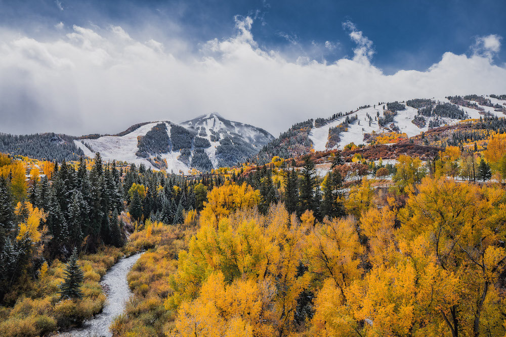 Aspen in all its glory. - © Aspen Snowmass, Tamara Susa