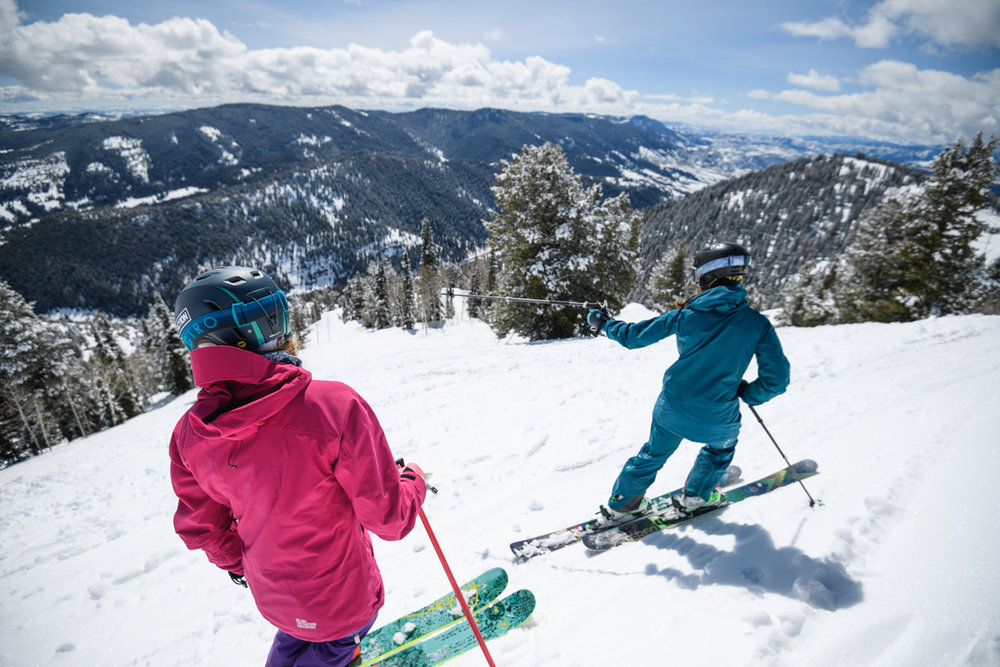 Near the top of Utah in Logan Canyon, Beaver Mountain Resort is a family-owned, smaller ski area that still offers a wide mix of terrain and Utah's signature snow. - © Re Wikstrom