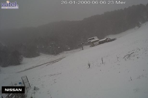 Prima neve in Abruzzo! Campo Felice 22.10.18 - © Campo Felice Ski Facebook