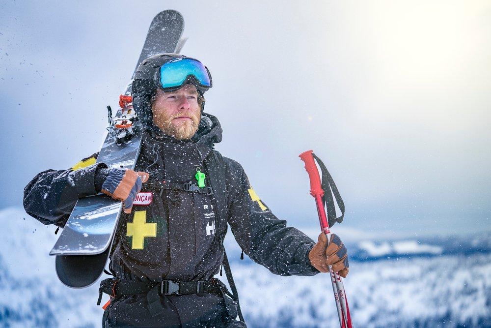 Duncan Browning, soccorso alpino della Red Mountain - © Cam Mc Leod
