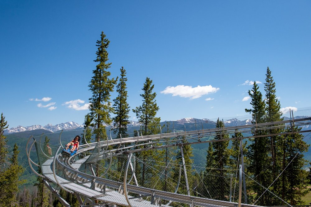 Views from Vail's Forest Flyer.  - © Vail Resorts