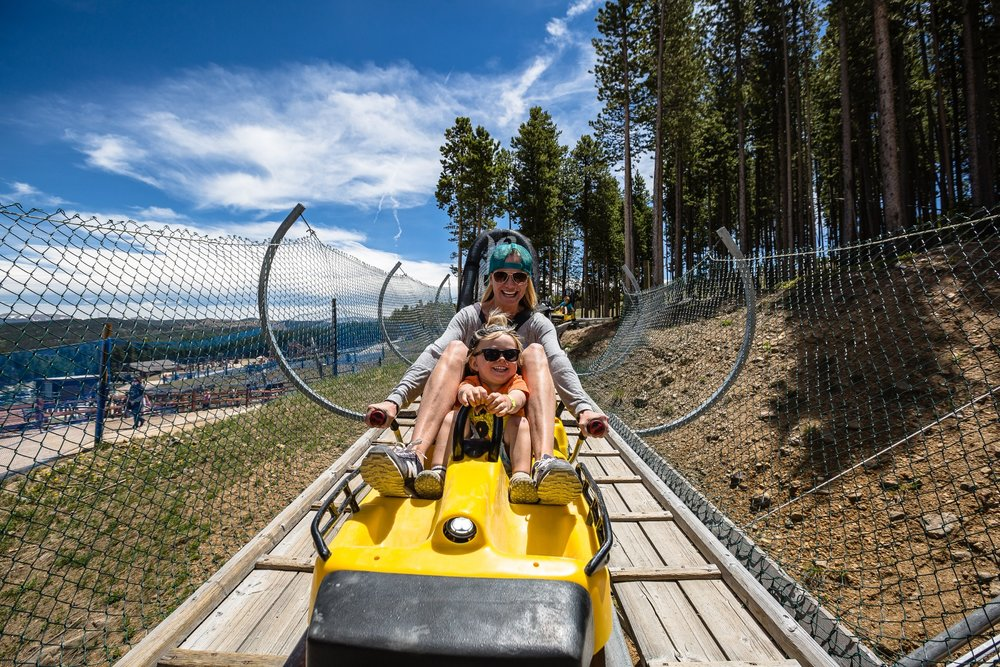 Breck was the first Colorado ski resort to build an alpine coaster (opened in the winter 2010/2011 season). - © Brent Clark, Breckenridge Ski Resort