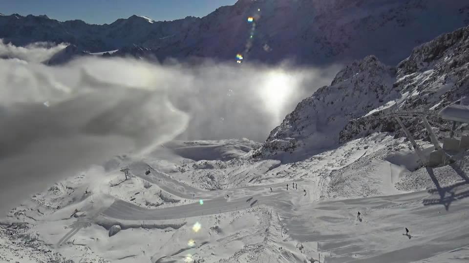 Herrliche Schneebilder vom Kaunertaler Gletscher - © Facebook Kaunertaler Gletscher