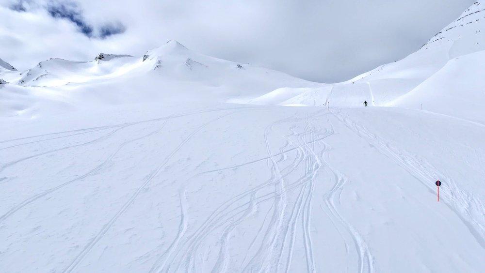 Trasy na zboczach Masnerkopf (2828 m) w Serfaus - © Tomasz Wojciechowski