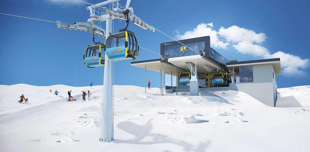 So wird die neue Möslbahn aussehen - © https://www.mayrhofner-bergbahnen.com